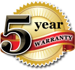 Five Year Spa Cover Limited Warranty